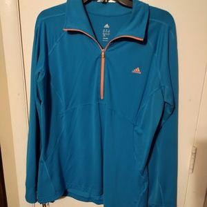 Adidas long sleeve pullover Sz XL